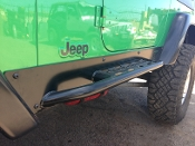 Rock Sliders For Stock Fenders ( pair )